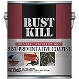 Majic 8-6007-1 Rust Kill Enamel, Machine Green, Gallon (Pack of 4)