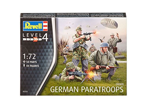- Revell Revell02532 German Paratroops (wwii) Model Kit