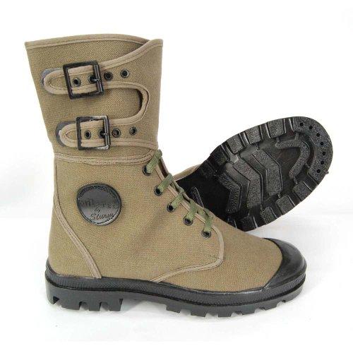 Größe Französische Wanderschuhe 47 Canvas Tec Outdoor Commando Sahara Stiefel Mil 38 Oliv Einsatzstiefel XvwqxZ5U