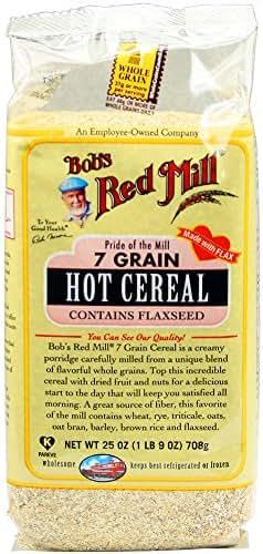 Oatmeal: Bob's Red Mill 7 Grain