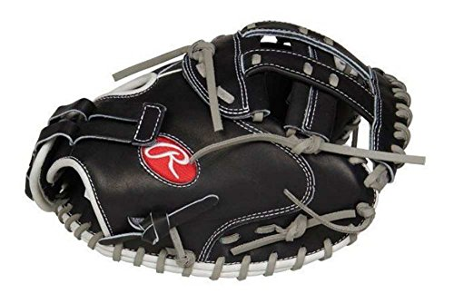 Rawlings PROCM33FP-24BG Heart of The Hide Fastpitch Softball Glove, Black, 12.5