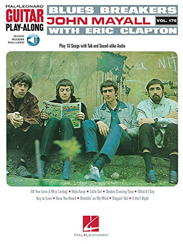 Blues Breakers With John Mayall & Eric Clapton - Guitar Play-Along Vol. 176