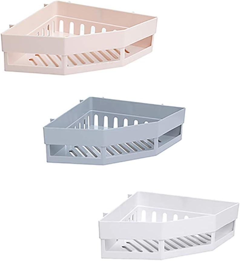 Accesorios de baño Estante de la esquina de baño de lavado rack ...