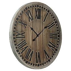 Cooper Classics Linden Clock in Natural Finish