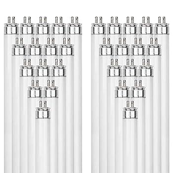 Image of Health and Household Sunlite F39T5/830/HO 39-Watt T5 Linear Fluorescent Light Bulb Mini Bi Pin Base, 3000K, 40-Pack