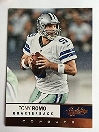 Amazon.com  2012 Absolute Football  82 Tony Romo NM M (Near Mint ... f87e7e4cb