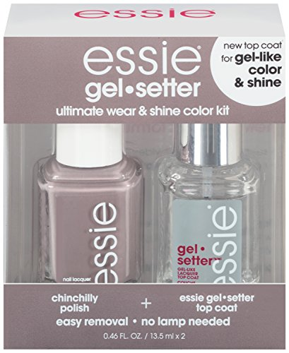 essie Gel Setter Ultimate Wear & Shine Color Kit, Chinchilly