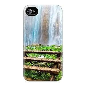 Mialisabblake Premium Protective Hard Case For Iphone 4/4s- Nice Design - Nature Waterfalls Amazing Waterfall