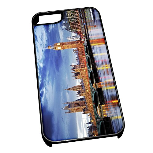 Cover per iPhone 5/5S 0600 Big Ben London Skyline