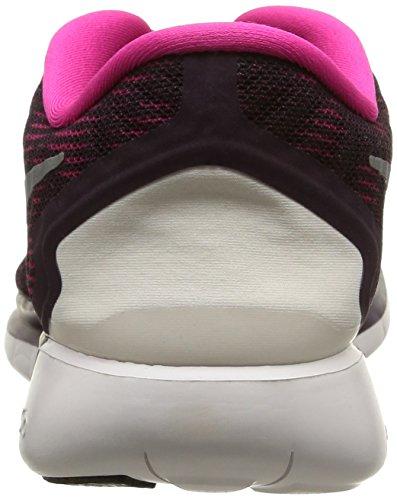 Nike Mujeres Free 5.0 Print Noble Purple / Cumbre Blanco / Rosa Running Zapatillas 5.5 Mujeres Ee. Uu.