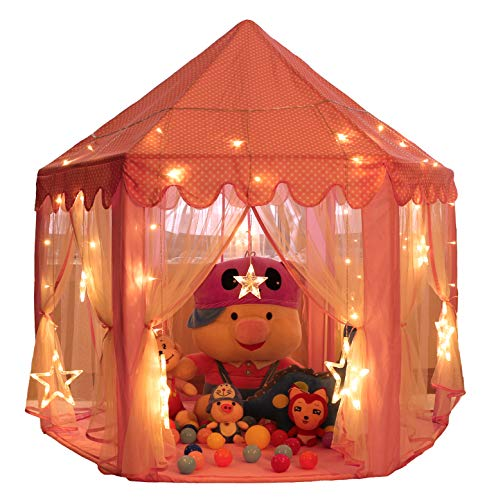 Monobeach Princess Tent Girls Large Playhouse Kids Castle