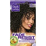 SoftSheen-Carson Dark and Lovely Fade Resist Rich Conditioning Color, Natural Black 372