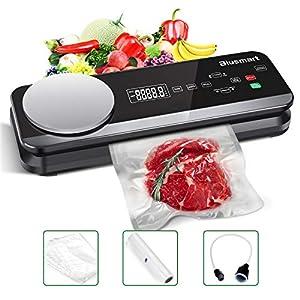 Macchina Sottovuoto per Alimenti Automatica Blusmart 80Kpa Macchina Sigillatrici con bilance da cucina integrate e… 11