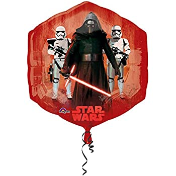 Bsstr 2PCS Star Wars balloons Party Supplies 27 Foil Balloons for Kids Baby Shower Birthday Party Decorations