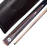 "(1 YEAR GUARANTEE !!!) Cool 57"" Maple original Handmade 1/2 Piece SNOOKER CUE (57'' 1/2 piece)SA12"