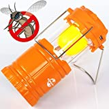 GlowSunny Camping LED Lantern Portable Solar lights,Mosquito Repellent and Bright Night Light Best for Outdoor Travel