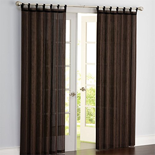 Bamboo Panel Blinds - Brylanehome Bamboo Grommet Panel, 42