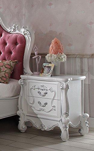Furniture Nightstand Acme Set - ACME Versailles Antique White Nightstand