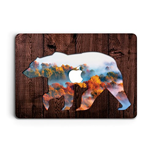 (ZVStore Protective Shell Sleeve Plastic Hard Pro Case for MacBook (Air 13 (A1369 & A1466), Bear of The Woods) )