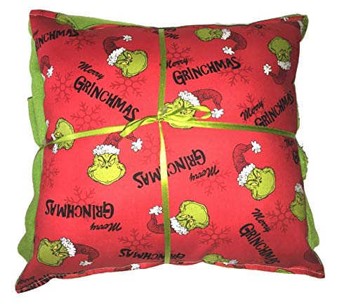Grinchmas Pillow & Blanket The Grinch Pillow Dr Seuss Winter Fest Holiday Pillow HANDMADE In USA Pillow Set