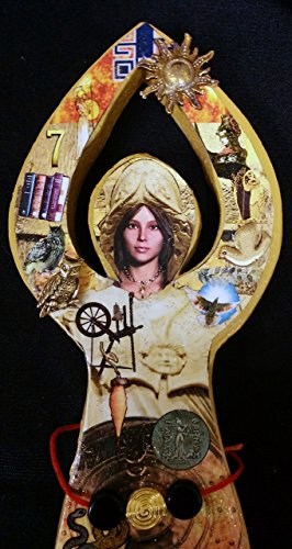 Athena (Greek), Minerva (Roman) Goddess of Wisdom, Goddess of Craftsmanship, Goddess of War (Victory Goddess)