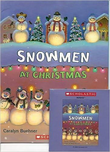 Snowmen At Christmas.Snowmen At Christmas Book And Audio Cd Set Paperback Book