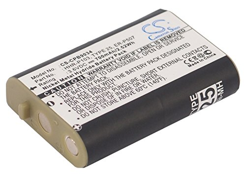 Cameron Sino 700mAh Replacement Battery for V TECH - Mah Replacement 700 New