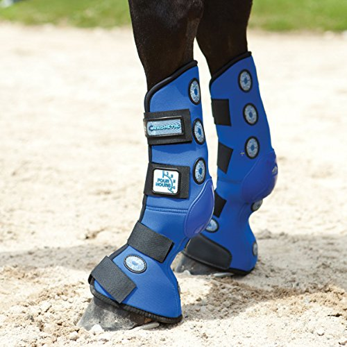 Veredus Magnetik 4-Hour Stable Boots Rear Medium by Veredus
