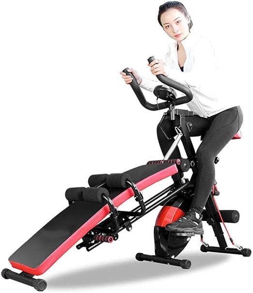 YSYDE 7-en-1 Multi-Función Magnetic Control Ejercicio Bicicleta ...