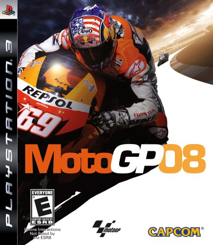 MotoGP 08 - Playstation 3 (Game Motogp)