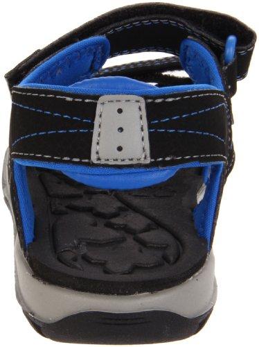 Timberland Spenningshungrig To-stropp Sandal (småbarn / Liten Gutt) Black / Royal (utgått)