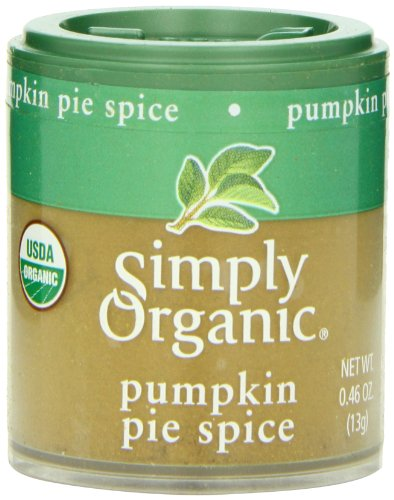 Simply Organic Pumpkin Pie Spice, Mini Spice, 0.46 Ounce (Pack of 6) by Simply Organic