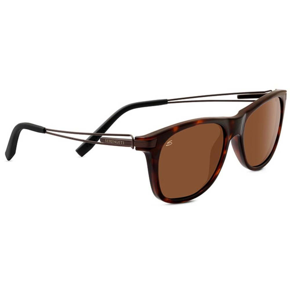 Serengeti 8194 Pavia, Shiny Dark Tortoise Frame, Polarized Drivers Lens by Serengeti