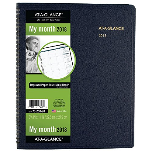 AT-A-GLANCE Monthly Planner - January 2018 - March 2019 - 8-7 8
