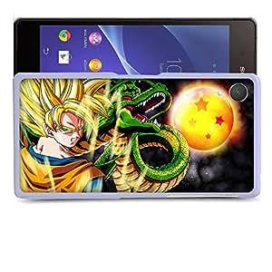 Case88 Designs Dragon Ball Z GT AF Son Goku Super Saiyan Goku Protective Snap-on Hard Back Case Cover for Sony Xperia Z2
