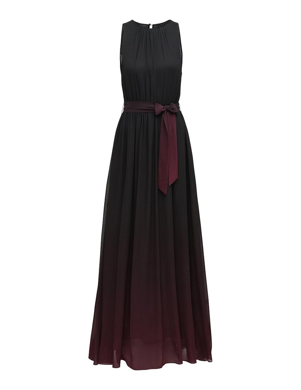 APART Fashion Women's Glamour: Black Cherry-Blush-Pink Dress: Amazon.co.uk:  Clothing