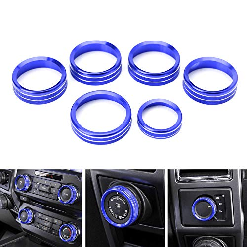 Used, iJDMTOY 6pc Sports Blue Aluminum Air Conditioner Stereo for sale  Delivered anywhere in Canada