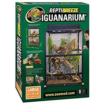Amazon Com Zoo Med Reptibreeze Open Air Screen Cage
