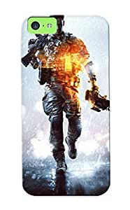 New Arrival Battlefield 4 MEiPeez1118MkdFA Case Cover/ 5c Iphone Case