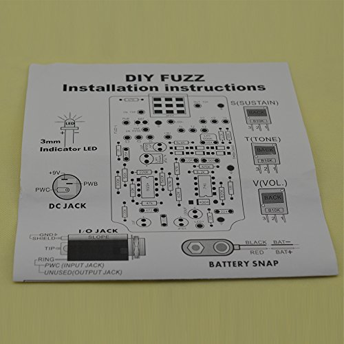 Surprising Amazon Com Diy Fuzz Pedal Kits With 1590B Diecast Aluminum Wiring Database Gramgelartorg