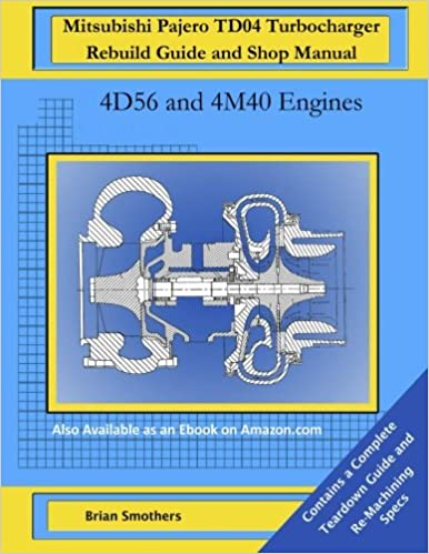 Mitsubishi Pajero TD04 Turbocharger Rebuild Guide and Shop