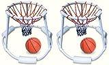2) Swimline 9162 Swimming Pool Quality Floating Super Hoops Fun Basketball Games
