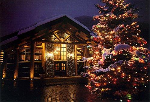 Resort River Lodge - River Run Lodge at Sun Valley Resort, Idaho #665_Goodall Christmas Cards