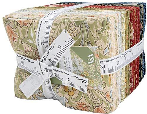 V & A Morris Garden 36 Fat Quarters Moda Fabrics 7330AB