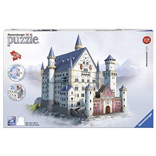 Ravensburger Neuschwanstein 3D Puzzle (216-Piece)