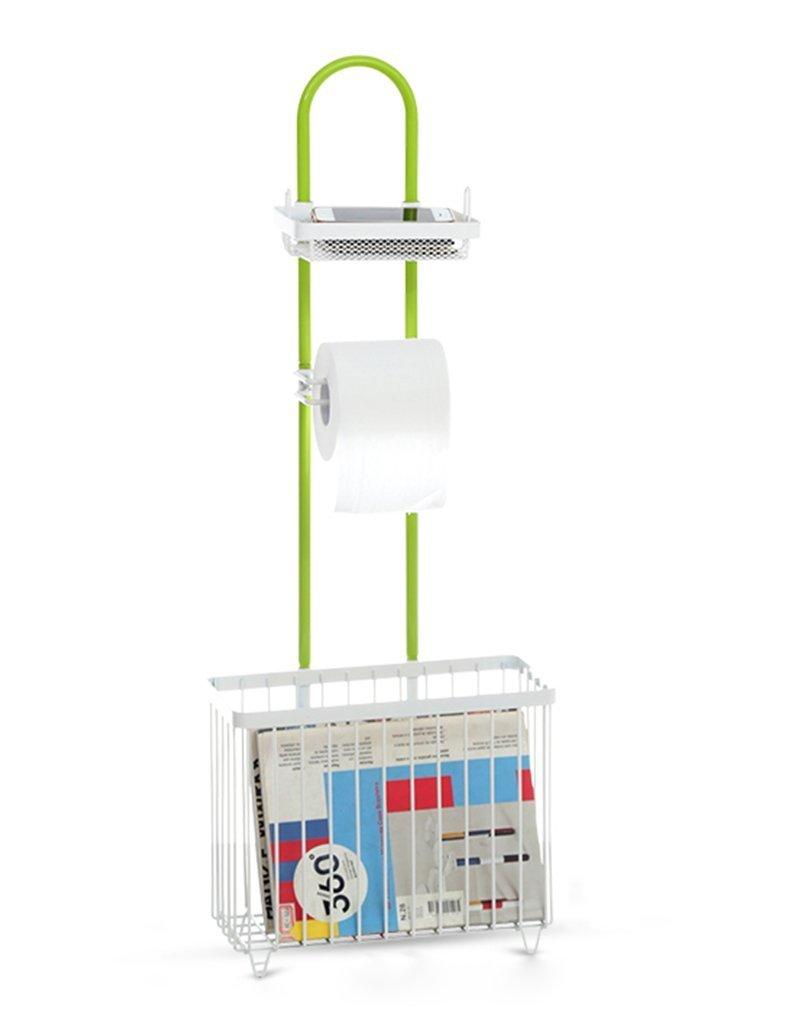 DIDIDD Shelf-Hwf Bathroom Shelves Shelves Multifunction Bathroom Storage Rack Shelves Floor Magazine Shelves Toilet Paper Holder Toilet Racks,A