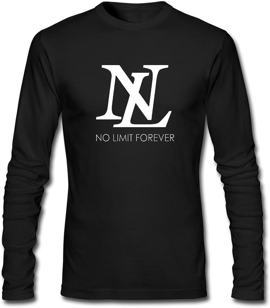 Delli Men's Long Sleeve T-Shirt No Limit Forever Logo