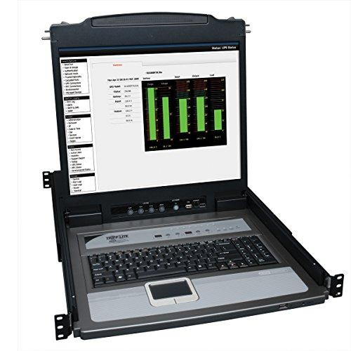 Tripp Lite B020-U08-19-K 8-Port Console KVM Switch w/ 19'' LCD & 8 PS2/USB Combo Cables by Tripp Lite