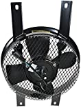 AC A/C Condenser Fan Motor Cooling Radiator for