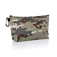 Thirty One Cool Clip Thermal Pouch in Camo Crosshatch - No Monogram - 8256